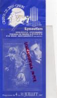 87- EYMOUTIERS - PROGRAMME CINEMA LE JEAN GABIN- HARRY POTTER ET L' ORDRE DU PHENIX- DIE HARD 4-2007 - Programs