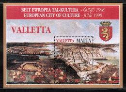 EUROPEAN IDEAS 1998 MT MI BL 16 MALTA - European Ideas