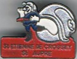 Pompier   St Etienne _de_Crossey - Bomberos