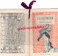 75 - PARIS - PROGRAMME THEATRE DE L' ODEON- L' ILLUSTRATION-SEGOND WEBER-LAMBERT-1900-DEHON-MARQUET-SOREL-RAMEAU-SIBLOT- - Programs