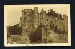 LUXEMBOURG  -  Echternach  Beaufort  Les Ruines Du Chateau  Unused Vintage Postcard - Echternach