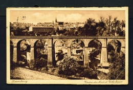 LUXEMBOURG  -  Viaduc Du Nord  Used Vintage Postcard - Luxemburg - Town