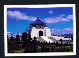 TAIWAN  -  Taipei  Chiang Kai Chek Memorial Hall  Unused Postcard - Taiwan