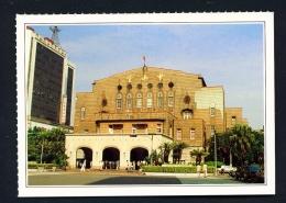 TAIWAN  -  Taipei City Hall  Unused Postcard - Taiwan