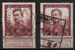 1912, Mi. Nr. 99, Mi. Ca. 64.- Gestempelt  , Nur 14%    , #13 - 1915-1920 Albert I