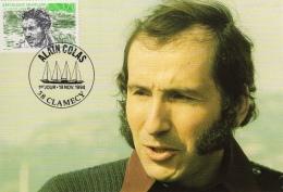ALAIN COLAS : 1er Jour 1994 à CLAMECY - FDC