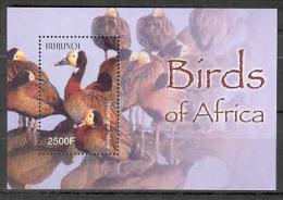 Burundi COB BL147 Vogels-Oiseaux-Birds 2004 MNH