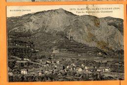CAL845, Maurienne, Vue Du Hameau Du Châtelard, 1970 ,circulée 1916 Sous Enveloppe - Saint Michel De Maurienne