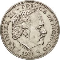 Monaco, Rainier III, 5 Francs, 1971, SPL+, Copper-nickel, KM:150, Gadoury:MC153 - 1960-2001 Nouveaux Francs