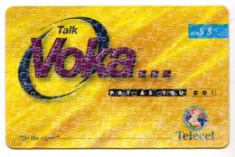 ZAMBIE RECHARGE GSM VOKA TELECEL - Zambie