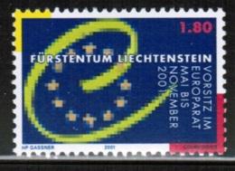 EUROPEAN IDEAS 2001 LI MI 1256 LIECHTENSTEIN - European Ideas