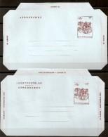 """BELG.1983 Aero 19 ** (MNH) """" B 82 """" - Stamped Stationery"""