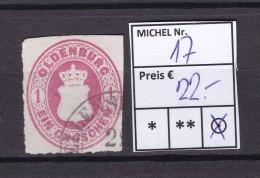Oldenburg - 1862/67 - Michel Nr. 17 - Hoher KW!!! - Oldenburg