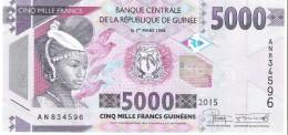 Guinea - Pick New - 5000 Francs 2015 - Unc - Guinea