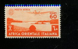 AFRIQUE ORIENTALE ITALIENNE MNH *** YVERT AERIENNE LUCHT POST 3 LAC TANA - Autres - Afrique