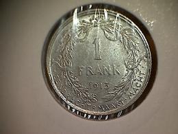 Belgique 1 Frank 1913 VL - 1909-1934: Albert I