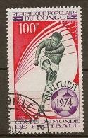 Congo YT PA 180 Obl - Coppa Del Mondo