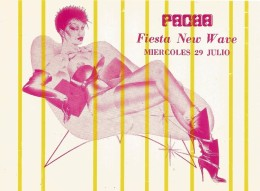 PH24 - POSTAL - PACHA GANDIA - FIESTA NEW WAVE - Sin Clasificación