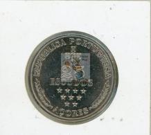 AUTONOMIE REGIONALE DES ACORES - 25 ESCUDOS - REF 43  - COTE IPCcoins: 8€ - Açores