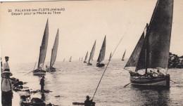34 PALAVAS Les FLOTS Départ Pour La Pêche Au Thon CPA - Palavas Les Flots