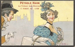 PETROLE HAHN. F. VIBERT. FAB. LYON - Reclame