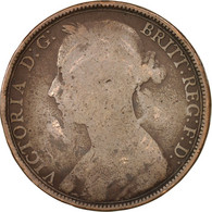 Grande-Bretagne, Victoria, Penny, 1891, B, Bronze, KM:755 - 1816-1901: 19. Jh.