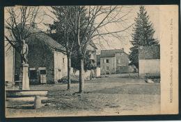 MAIZIERES - Place De La Fontaine - La Poste - France