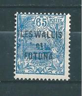 Timbres De Wallis Et Futuna  Timbres  De 1927/28  N°41  Neuf * - Wallis And Futuna