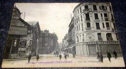 CPA Animée - CHALON Sur SAONE (71) - Rue De L'Obélisque - 1915 - Chalon Sur Saone