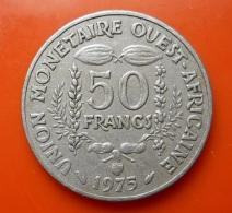 West Africa 50 Francs 1975 - Monnaies