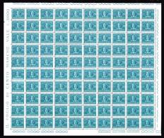 ITALIA 1965 Recapito Autorizzato Foglio Intero Lire 30  MNH ** Integro ! Fogli - Fogli Completi