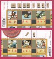 NEDERLAND, 2006, 2 Off Mint Blocks Stamps, Leesplankje, Bl2417, #7212 - Period 1980-... (Beatrix)