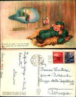 2185a)cartolina-piccolo Soldato Con Scritti Versi Di Lili Marlen Ediz.suvini Zerboni - Humor