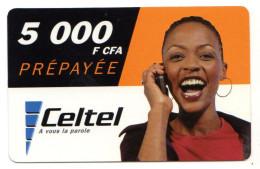 GABON RECHARGE CELTEL 5 000 FCFA - Gabon