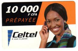 GABON RECHARGE CELTEL 10 000 FCFA - Gabon