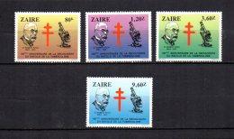 Zaire   1983   .-  Y&T  Nº   1128/1131   **   ( C/charniere ) - Zaïre