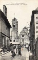 35 ILLE ET VILAINE - SAINT AUBIN DU CORMIER Rue De La Garenne, Jour De Marché - Autres Communes