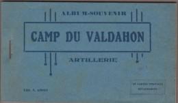 25-CAMP DU VALDAHON-Artillerie - Carnet 10 Cartes.... - France