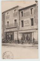 ROUJAN (34) - CAFE HOTEL MILHAU (ETAT) - France