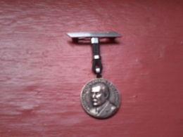 Broche Ou Médaille Maréchal Pétain Travail Famille Patrie - Militaria