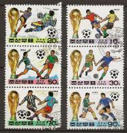 Corée Du Nord YT 2397-2402 Obl - World Cup