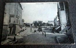 CPA Animée - CHALON Sur SAONE (71) - La Place De Beaune - 1905 - Chalon Sur Saone