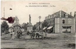 CHAMPAGNAC LES MINES - La Place  (88331) - Frankrijk