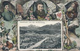 JAHRHUNDERT IN INNSBRUCK,  1809-1909 - Innsbruck Von Der Weiherburg. No. 2145, Von HRM, Excellent - Innsbruck
