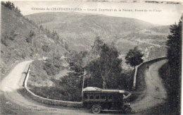CHAUDESAIGUES - Grand Tournant De La Nation - Autobus    (88340) - Sonstige Gemeinden