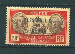 Timbres De Wallis Et Futuna  Timbres  De 1930/38  N°65  Neuf * - Wallis Y Futuna