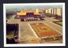 TAIWAN  -  Taipei  Sun Yat-sen Memorial Hall  Unused Postcard - Taiwan