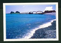TAIWAN  -  Cheng Kung Three Fairies Terrace  Unused Postcard - Taiwan