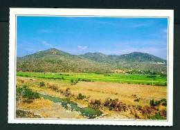 TAIWAN  -  Checheng  Szuchunghsi Hot Springs  Unused Postcard - Taiwan