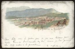 ITALY ROVERETO LITHO POSTCARD 1900 - Italia